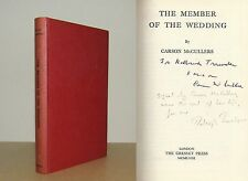 Carson McCullers (Raleigh Trevelyan) - The Member of the Wedding - Signed - 1st