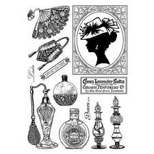 Crafty Individuals A LADY'S BOUDOIR Multi Elements A6 Plate Rubber Stamp CI-335