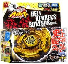 TAKARA TOMY BEYBLADE METAL MASTERS BB99 GOLD HELL HADES KERBECS BD145DS+LAUNCHER