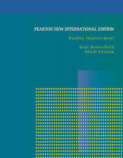 Quality Improvement 9Eby Dale H. Besterfield (Paperback, 2013) ISBN9781292022307