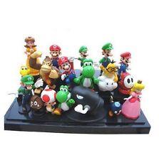 Super Mario Bros | Figuras 18 ud/set PVC juguetes figure niños | Buena calidad