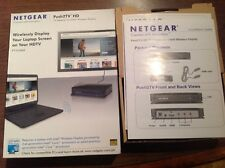 NETGEAR Push2TV HD-TV Adapter for Intel Wireless Display PTV2000. New