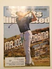 "Jordan Spieth Signed ""Major Drama"" Sports Illustrated Magazine !"