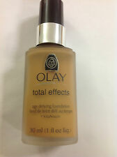Oil Of Olay Total Effects age defying Liquid Foundation MEDIUM TO DEEP HONEY #72