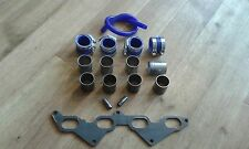 FORD I4 RS2000 16v DIY BIKE CARB / THROTTLE BODIES INLET MANIFOLD KIT 45mm PIPES