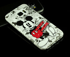 for Samsung Galaxy S7 edge Disney Mickey Mouse TPU back Case cover Defender
