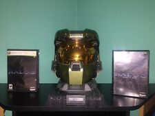 HALO 3 LEGENDARY EDITION ESSENTIALS & MASTER CHIEF HELMET XBOX 360