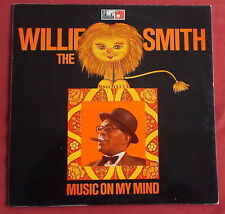 WILLIE THE LION SMITH    LP ORIG GER MUSIC ON MY MIND