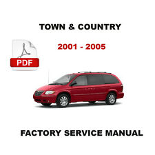 2001 2002 2003 2004 2005 CHRYSLER TOWN AND COUNTRY FACTORY SERVICE REPAIR MANUAL