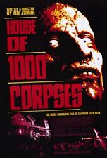 """HOUSE OF 1000 CORPSES Movie Poster [Licensed-New-USA] 27x40"""" Theater Size (2003)"""