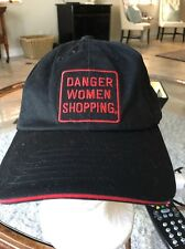 Danger Women Shopping Hat A Career Choice Cap Black Adjustable Funny Girls