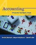 Accounting : What the Numbers Mean with Student Study Resource, PowerWeb and...