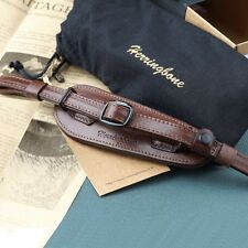 Herringbone Heritage Leather Camera Hand Grip Strap(Antique Brown) w/o Plate