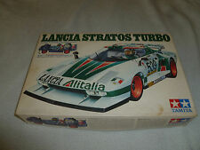 BOXED LANCIA STRATOS TURBO MODEL TAMIYA 1/24 SPORTS CAR SERIES NO SS-2403 CIB