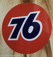 "Old school sticker ""union 76"" Autocollant/hot rod us car-v8-CHEVROLET"