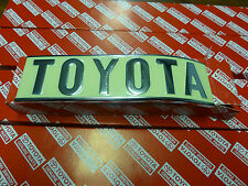 Genuine Toyota Landcruiser FJ40 Rear TOYOTA Badge BRAND NEW NOS HJ45 BJ40 FJ45