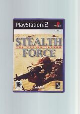 STEALTH FORCE: la guerra al terrore-SONY PS2 Sparatutto Gioco-Veloce Post COMPLETO