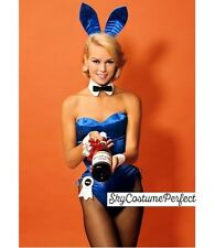 SALE FREE WORLD SHIP Satin Playboy Bunny ANY COLOR COMPLETE Ears ECT Costume