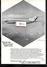 ANA ALL NIPPON AIRWAYS BOEING 727-100 1965 129 AEROTHERM SEATS A PLANE AD