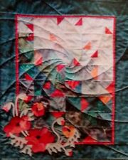 Poppy Field Art Quilt Instruction Pattern By New Zealand Designers
