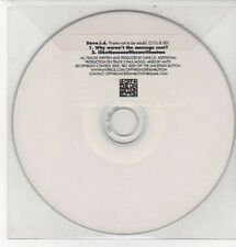 (DD333) Dave ID, Why Weren't The Message Sent? - 2009 DJ CD
