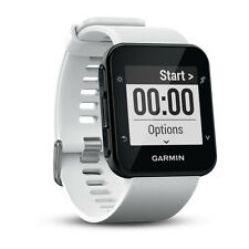 GARMIN FORERUNNER 35 GPS Running Fitness WATCH Large WHITE New FREE SHIPPING