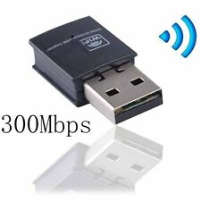 Wifi Usb Adapter 300Mbps Wireless Dongle Adaptor 802.11 B G N Lan Network