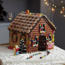 1X Christmas House Xmas Cake Mold Chocolate Cookie Baking Mould DIY Decor Tool