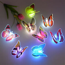 Battery Operated LED Colorful Butterfly Chain Lights Novelty Girls Fairy Lights