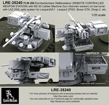 Live Resin 1:35 FLW 200 Remote Weapon Station w M2 #1 - Resin Detail #LRE35240