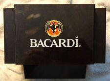 Bacardi Rum Bar Caddy - Napkin, Straw, Swizzel Holder....NEW