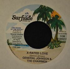 BEACH SOUL General Johnson & the Chairmen Surfside 890215 X-Rated Love