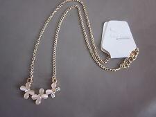 Collier pendentif papillon en cristal strass ** NEUF **