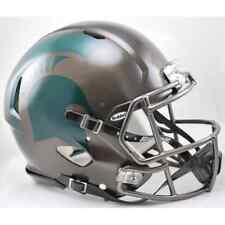 2015 MICHIGAN STATE SPARTANS MSU NCAA Riddell SPEED Football Helmet (BRONZE)