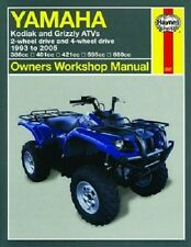 HAYNES SERVICE MANUAL 2567 YAMAHA YFM660F GRIZZLY 660 4X4 2002 2003 2004 2005