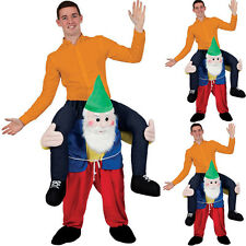 Carry Me Garden Gnome Piggy Back Ride on Costume Halloween Fancy Dress Party