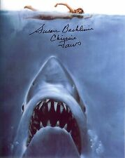 JAWS 1st Victim  autographed 8x10 color JAWS photo Susan Backlinie (Chrissie) **