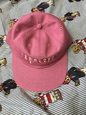 Supreme 6-panel Snap Back Hat Dusty Pink NWT