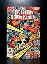 COMICS: DC: Legion of Super-Heroes #308 (1980s) - RARE (flash/batman/wonder)