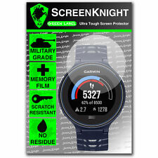 Screenknight Garmin Forerunner 630 Protector De Pantalla Invisible Militar Escudo