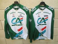 Lot 2 Veste cycliste CREDIT AGRICOLE Nalini LOOK Eddy Merckx 4 L jacket CA