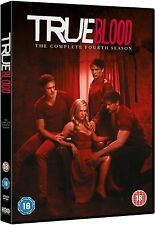 True Blood HBO TV Series Complete Season 4  DVD 5 DiscsCollection Boxset New