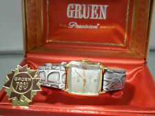 Vintage art deco Gruen Precision Veri-Thin Herrenarmbanduhr - Doctors watch