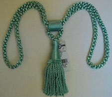 "Curtain & Chair Tie Back-24""spread w/ 5.5"" tassel=8 bright colors to choose from"