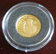 Goldmünze Niue ~ 25 Dollars 1994 ~ John F. Kennedy ~