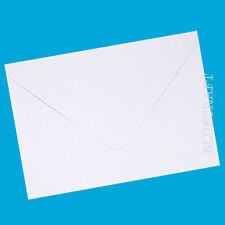 50 x A6 C6 Diamond White 100gsm Gummed Envelopes - Crafting