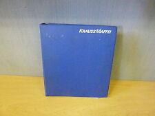 Krauss Maffei Hydraulic Manual for Injection Molding Machines MX Series (11950)