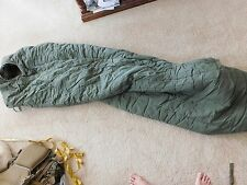 US ARMY GREEN VIETNAM ERA 83 SLEEPING BAG