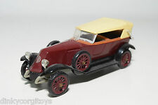 RIO RENAULT 1923 BROWN WITH BLACK NEAR MINT CONDITION