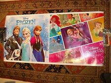 Frozen Movie Walt Disney Princess Montage Advertisement Poster 22 x 45""